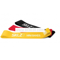 SKLZ Mini Bands (Yellow/Red/Black)