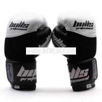 Bulls Premium RDXB001 Boxing Gloves (White/Black)