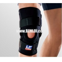 LP 710 Hinged Knee Stabilizer (Black) - Medium