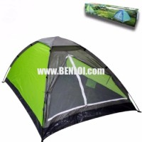 Bobcat 2-Person Monodome Tent With Box (Light Green/Gray)