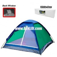 Bobcat 8-Person Monodome Tent With Box (Blue/Green)