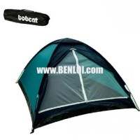 Bobcat 3-Person Monodome Tent Without Box (Teal Green)