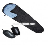 Bobcat Sleeping Bag - Mummy Type Black