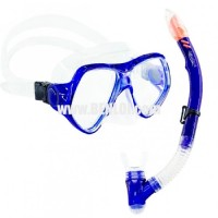 Aquagear M21 Mask & Snorkel Set