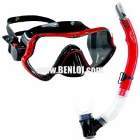 Aquagear M11 Mask and Snorkel Set