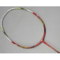 Li-ning Nano Power NP808 Red White Badminton Racket