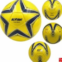Star Futsal Soccer Ball (Yellow)