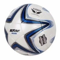 Star New Polaris 2000 Soccer Ball (Blue/White)