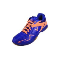 Victor AS32BO Blue/Orange Badminton Shoes