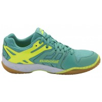 Babolat Shadow Team Badminton Shoes Green (Women)