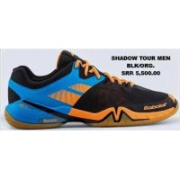 Babolat Shadow Tour Men Black/Orange Badminton Shoes