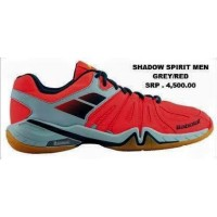 Babolat Shadow Spirit Men Grey/Red Badminton Shoes
