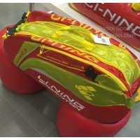 Li-ning ABDG352-2 Red Yellow 9 in 1 Racket Bag