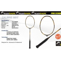 Black Knight Calibre 35 HT Black/Gold Badminton Racket
