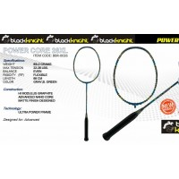 Black Knight Power Core 28XL Gray, B. Green Badminton Racket