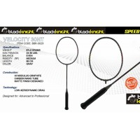 Black Knight Velocity 30HT Gray Badminton Racket