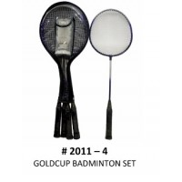 Gold Cup 4-Pc Badminton Set
