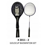 Gold Cup 2-pc Badminton Set