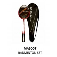 Mascot Badminton Racket Set (2 pcs)