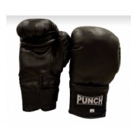 Punch Boxing Gloves - Black