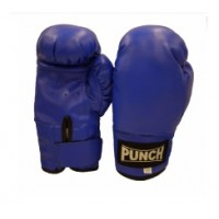 Punch Boxing Gloves - Blue