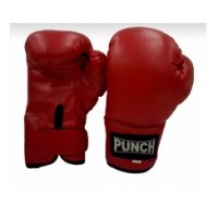 Punch Boxing Gloves - Red