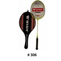 Wish Badminton Racket (Yellow)