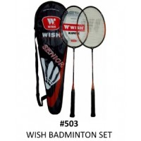 Wish Badminton Racket Set
