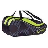 Yonex Bag8729EX Black/Acid Yellow Racquet Bag