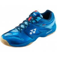 Yonex POWER CUSHION SHB55EX Blue Badminton Shoes