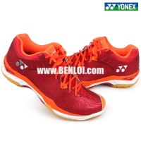 Yonex SHB CFTEX Badminton Shoes Crystal Red