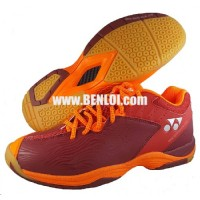 Yonex SRCP CFT Badminton Shoes Red Orange