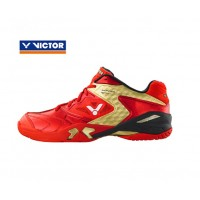 Victor SH-P9200 DX Red/Gold Badminton Shoes