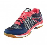 Yonex Cushion Comfort Navy Pink Women Badminton Shoes