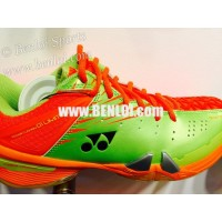 Yonex SHB01YLTD LCW Badminton Shoes (Lime/Green/Orange)